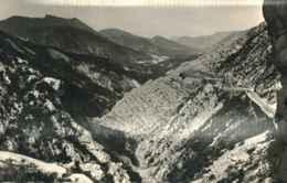 04  - CPSM - SENEZ - Route Napoléon Avec Vallée De L'Asse - Otros Municipios