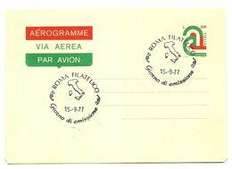 1977 - Italia A8 Aerogramma - Tricolore - 1971-80:  Nuovi