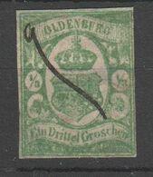 Altdeutschland - Oldenburg , Nr. 10 , 2. Wahl Und Federzug , Echt ?? - Oldenburg