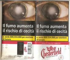 CHESTERFIELD TABACCO PER SIGARETTA ITALY  SIGARETTE - Empty Tobacco Boxes