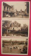 93 Dugny Sur Seine 1930-36 Lot De 6 Cpa Dont Animée Tabac Coiffeur Vieux Moulin Dos Scanné éditeur F.Heyer Indivisible - Dugny