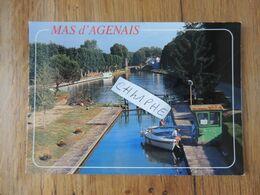 MAS D AGENAIS - ECLUSE SUR CANAL - ANIMATION SUR L EAU - Autres Communes