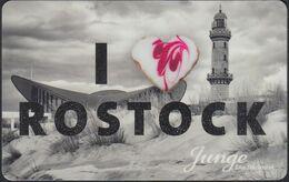 GERMANY Gift-card Junge - I Love Rostock - Cartes Cadeaux