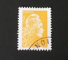 2020 Marianne Jaune - Oblitérés