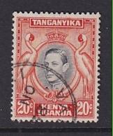 K.U.T.: 1938/54   KGVI    SG139    20c    [Perf: 13¼]   Used - Kenya, Uganda & Tanganyika
