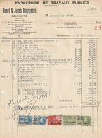 Beauraing 1932 , Henri Et Jules Bourgeois / Travaux Publics - Ambachten