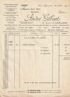 Saint-Gérard 1937 , André Gilbart / Spécialité De Cognac , Vins Et Spiritueux - Ambachten