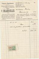 Rochefort 1937 , V. Collard - Gilles / Vins Et Spiritueux - Ambachten