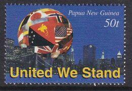 Papua New Guinea 2002 United We Stand Sc 1047 Mint Never Hinged - Papua-Neuguinea