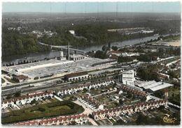CPSM PONTHIERRY - Le Centre Industriel - Vue Aérienne - Ed CIM N° Cc 484-112 A - France