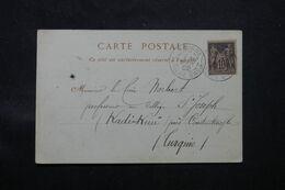 LEVANT FRANCAIS - Affranchissement Sage De Smyrne Sur Carte Postale En 1902 Pour Kadi Keuï - L 68713 - Lettres & Documents