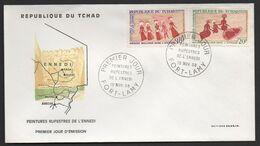 TCHAD ( F D C ) :  BELLE   F.D.C  DU  19  NOVEMBRE  1968 , A  VOIR . P T - Tchad (1960-...)