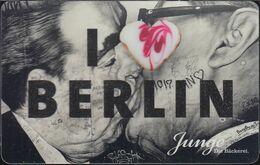 GERMANY Gift-card Junge - I Love Berlin - Cartes Cadeaux