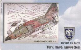 Turkey, TR-C-186, Turkish Air Force, RF-4E Phantom 1978-, Airplane, 2 Scans. - Türkei