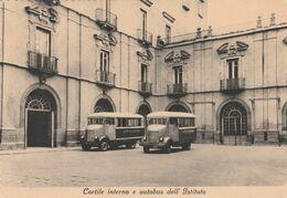 Cartolina - Postcard / Non Viaggiata -  Unsent /  Napoli, Palazzo Cariati - Istituto Pontano.   ( Gran Formato ) - Napoli (Naples)