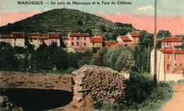 04  - Un Coin De MANOSQUE Et La Tour Du Château  **Couleur** - Manosque