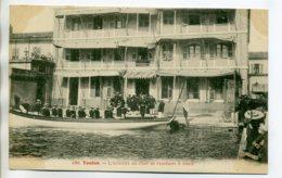 83 TOULON 186 Clavel- L'Amiral En Chef Se Rendant à Bord Marins Canot Port  1910    /D03-2017 - Toulon