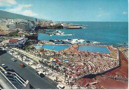 CPM Espana Islas Canarias Tenerife Puerto De La Cruz Vista Parcial Y Piscinas - Tenerife