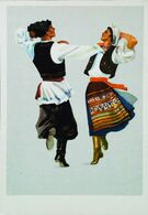 1954 - Danse De Moldavie  Танец Молдовы  - Ex URSS (CCCP) - Moldavia