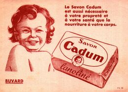 S Ca/Buvard Savon Cadum Format 16 X 12) (N= 5) - Blotters