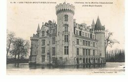 CPA  Les Trois Moutiers (86) Château De La Motte-Chandenier (Côté Sud Ouest) - Les Trois Moutiers