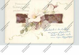 KÜNSTLER - ARTIST - CATHARINA KLEIN, Neujahr 1903, Eckknick - Klein, Catharina