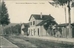 88 SAULXURES SUR MOSELOTTE /  La Gare / - Saulxures Sur Moselotte