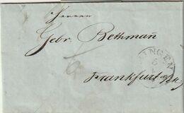 """Thurn Und Taxis / 1847 / Vorphila-Brief K1 """"BINGEN"""" (A019) - [1] Precursores"""