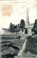 Carte 1910 QUIMERCH / LE CLOCHER - Otros Municipios