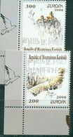 Armenia - Mountain Karabakh, Europe Europa CEPT 2008, Letters, 2 Stamps - 2008