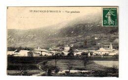 Saint - MAURICE-D'HOSTUN - Vue Gènèrale - Otros Municipios
