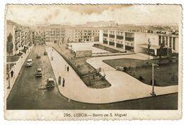 Portugal , Lisboa , Bairro De S. Miguel , 1959 , Photo Postcard , School , VW TAP - Lisboa