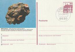 """Bundesrepublik Deutschland / 1983 / Bildpostkarte """"COBURG"""" Mit Bildgleichem Stempel (A026) - [7] Federal Republic"""