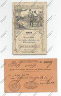 Verzeichnis Der Deutschen Studenten- Und Schüler- Herbergen, 1912, 95 Seiten, Min. Berieben, Deckblatt Leicht Fleckig - Crónicas & Anuarios