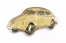 Pin's Volkswagen COCCINELLE Blanche - J554 - Volkswagen