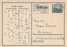 """Deutsches Reich / 1931 / Sonderpostkarte Mi. P 210 """"Nothilfe"""", Stempel Muenchen """"Postpaket ......."""" (A028) - Germany"""