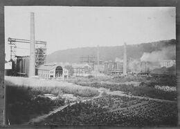 Photo Originale - Longwy - 1912 - 10,5 X 7 Cm - Site Industriel - - Orte