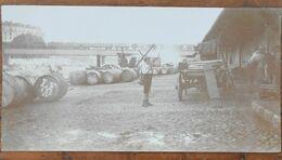 Photo Originale - Lyon - Septembre 1918 - Quai De (dé)chargement - Passage Du Train Sur Pont - 12,5 X 6,5 Cm - Beau Doc. - Plaatsen
