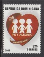 2017 Dominican Republic Dominicana FE Y Alegria Complete Set Of 1   MNH - República Dominicana
