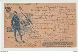 COURRIER  MILITAIRE-  14-18 --  L '  AVIATEUR - 1914-18