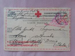 REGNO - Prigionieri Di Guerra 1918 - Cartolina Spedita Da Prigioniero Italiano Da Praga + Spese Postali - 1900-44 Vittorio Emanuele III