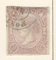 SP018 1865 SPAIN KINGDOM QUEEN ISABELLA II 1ST USED,MLH - 1850-68 Kingdom: Isabella II