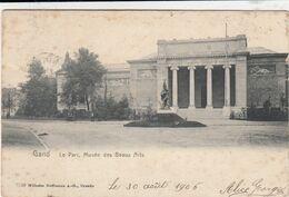 GENT /  HET PARK / MUSEUM SCHONE KUNSTEN  1906 - Gent