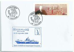 Vignette D'affranchissement Lisa - ATM - Eugène Vaillé Fondateur Du Musée Postal - Poitiers - 1999-2009 Viñetas De Franqueo Illustradas