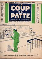 LE COUP DE PATTE JOURNAL SATIRIQUE ILLUSTRE N°24 OCTOBRE 1931 - Politics