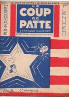 LE COUP DE PATTE JOURNAL SATIRIQUE ILLUSTRE N°23 OCTOBRE 1931 - Politics