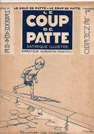 LE COUP DE PATTE JOURNAL SATIRIQUE ILLUSTRE N°26 NOVEMBRE 1931 - Politics