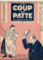 LE COUP DE PATTE JOURNAL SATIRIQUE ILLUSTRE N°28 NOVEMBRE 1931 - Politics