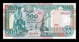 Somalia 500 Shillings 1989 Pick 36a Sign 2 SC UNC - Somalia
