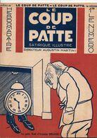 LE COUP DE PATTE JOURNAL SATIRIQUE ILLUSTRE N°32 DECEMBRE 1931 - Politics